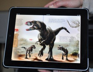 Dino on iPad