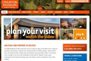 Creation Museum website