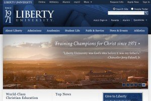 Liberty University website