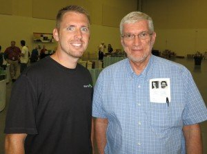Eic Hovind (pictured with me)