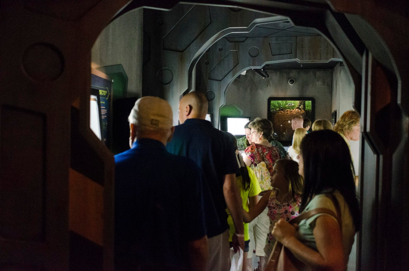 Creation Museum Crowds