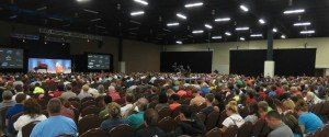 Audience at the Mega Conference