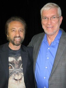 Ken with Ray Comfort