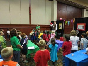 Mega Conference VBS taught by John Swomley