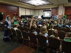 Mega Conference VBS lesson