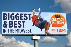 Zip line billboard 1