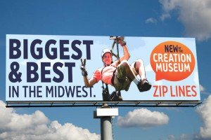 Zip line billboard 2