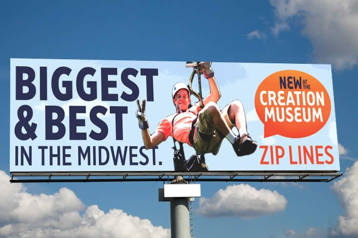 Zip Line Billboard