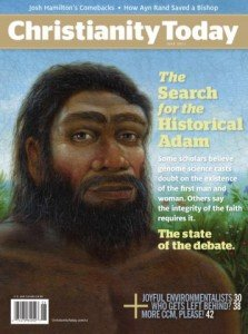 Christianity Today cover, The Search for the Historical Adam