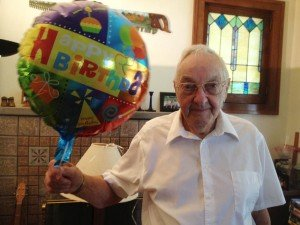 Dick Sauer 90th birthday