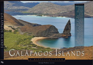 Galapagos Islands book cover