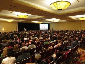 Texas Homeschool Coalition conference auditorium