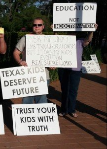 Texas Homeschool Coalition conference protestors from Houston Atheists