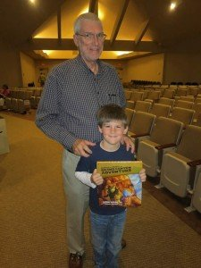 Ken Ham with child