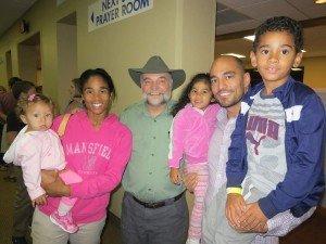 Buddy Davis with family