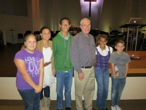 Ken Ham with children