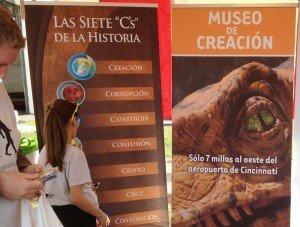 Hispanic Festival banners