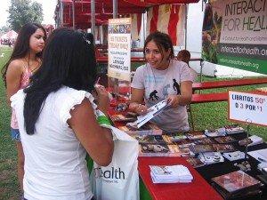 Hispanic Festival volunteers
