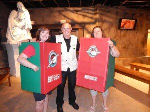 Operation Christmas Child mascots