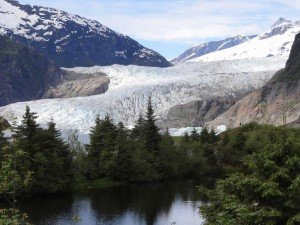 Glacier near Juneau