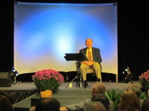 Dr. John Whitcomb at Answers for Pastors conference