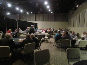 Lunch time at Answers for Pastors conference