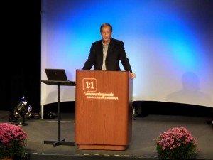 Dr. Stuart Scott at Answers for Pastors conference