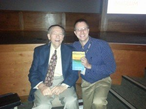 Dr. John Whitcomb and AiG staff member Nathan Oertel