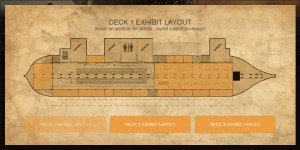 Ark Deck Exhibit Layout