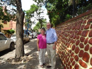 Ken and Mally in Santa Cruz, Bolivia