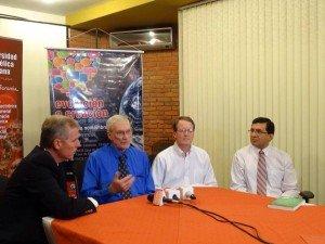 Bolivia press conference