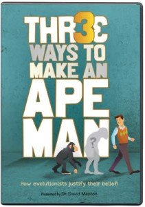 Three Ways to Make an Ape-Man DVD