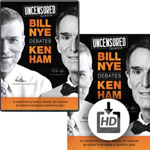 Bill Nye vs. Ken Ham Debate DVD and Video Download