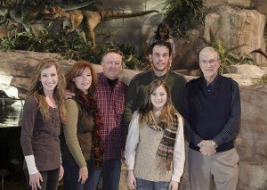 Ken Ham with the Brown Family