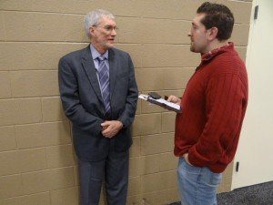Speaking with a reporter with the website TheBlaze.com.