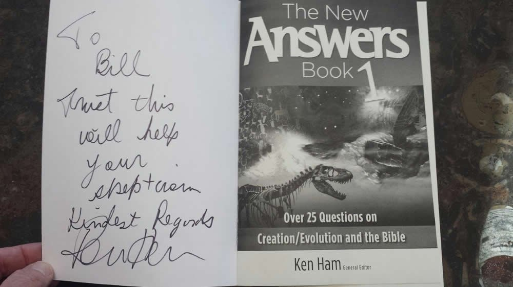 New Answers Book 1 for Bill Nye