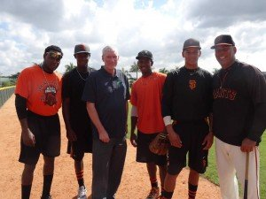 Many of the San Francisco Giants baseball players train here at this facility—I met some of them in the Dominican Republic.