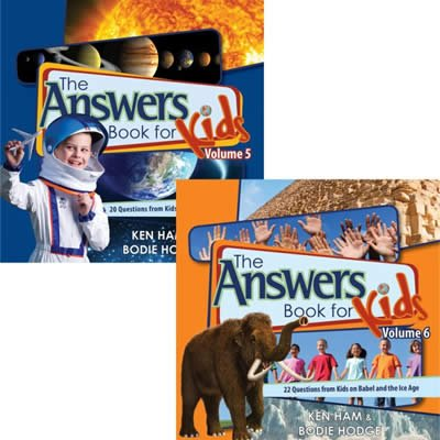 The Answers Books for Kids Volumes 5 and 6