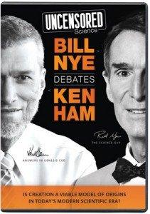 Undensored Science: Bill Nye Debates Ken Ham DVD
