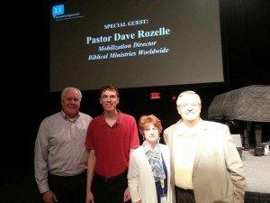 Mark Looy, Jeremy Ham, Joy and Dave Rozelle