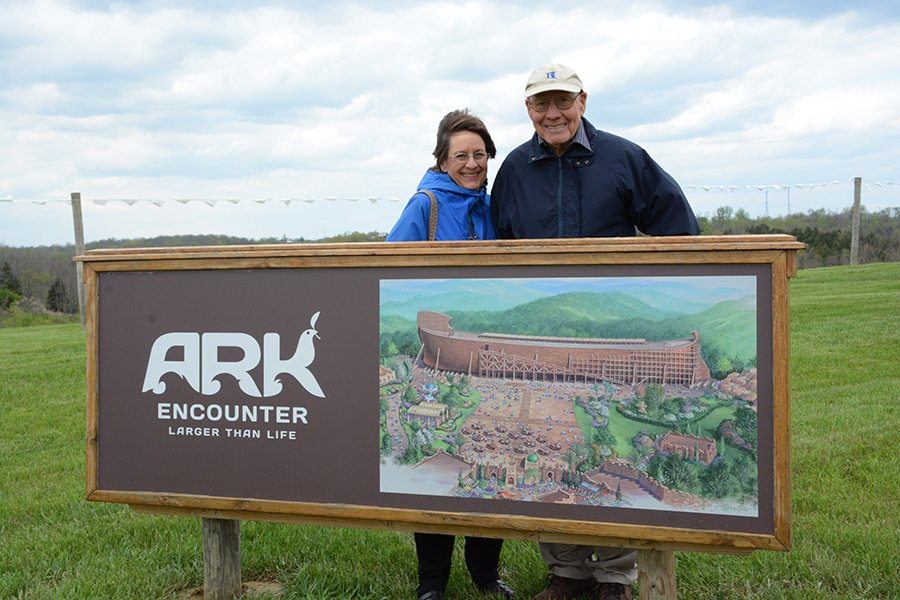 Visitors to the Ark Encounter