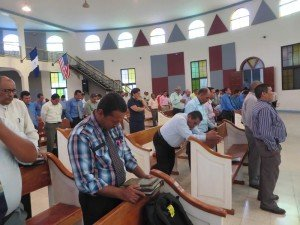 Pastors in prayer