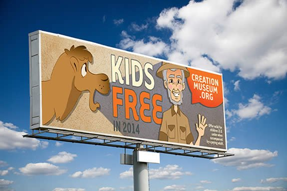 Kids Free Billboard