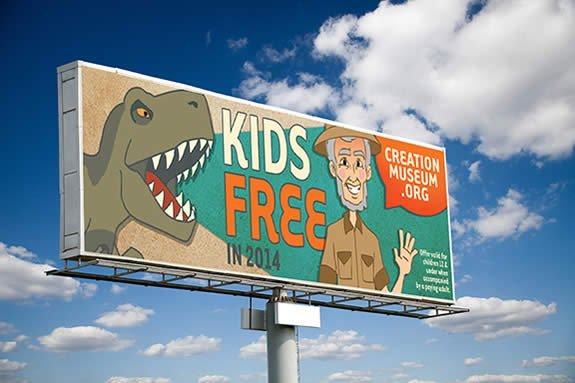 Kids Free Billboard