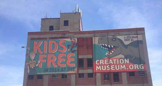 Creation Museum Wallscape