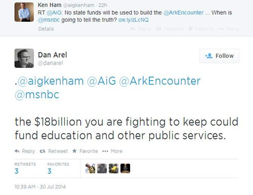 Don Arel tweet