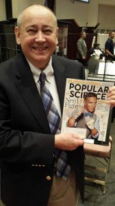 Bob Worstell with Popular Science Magazine
