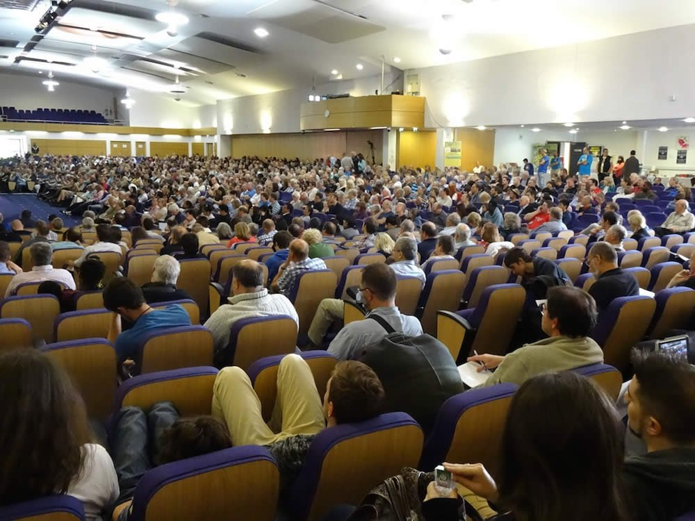 UK Mega Conference Audience