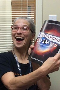 Dr. Elizabeth Mitchell with her new book