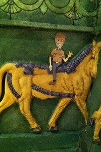 Ken on Horse - Cindy H.